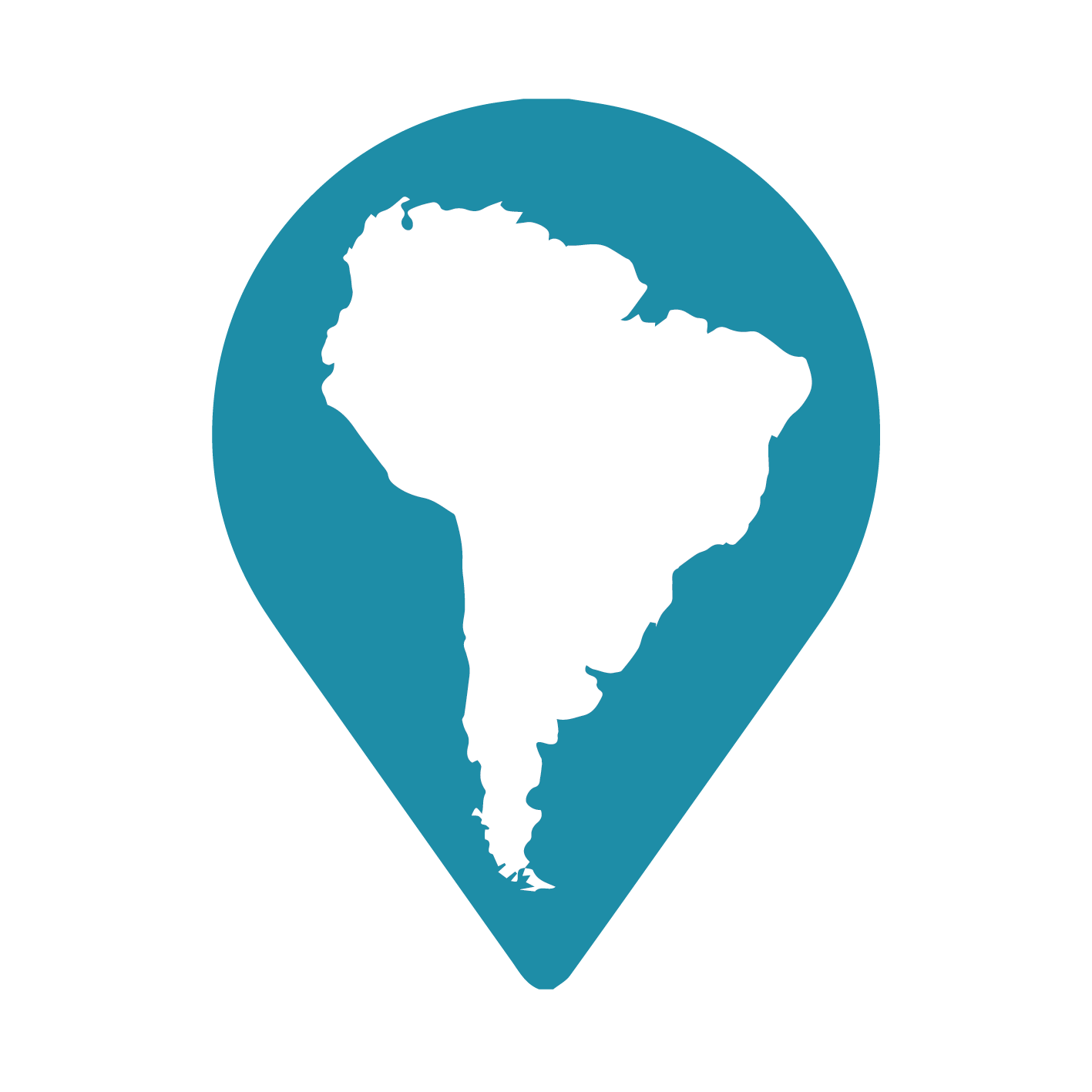 Traveling to South America logo